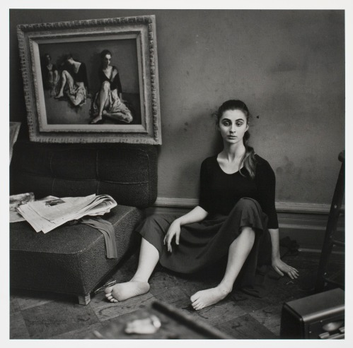 Moses Soyer's Studio, NYC, c. 1957/1958, by Larry Fink.