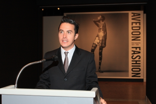 James Martin of the Avedon Foundation
